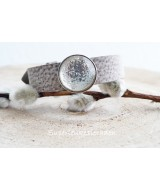 X-tra brede armband met cabochon