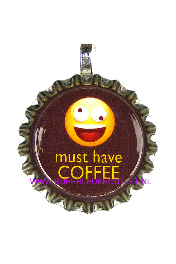 bottlecap - must have coffee